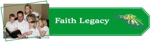 faith legacy faq header FAQs